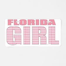 Florida Aluminum License Plate
