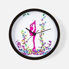 bielmangirlpink Wall Clock