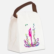 bielmangirlpink Canvas Lunch Bag