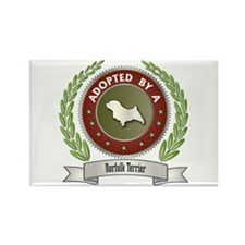 Norfolk Adopted Rectangle Magnet (100 pack)