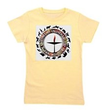 UUAM LOGO - 3x3 with animals png Girl's Tee