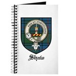 Shaw Clan Crest Tartan Journal