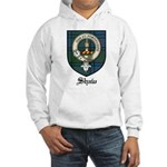 Shaw Clan Crest Tartan Hooded Sweatshirt