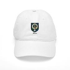 Shaw Clan Crest Tartan Baseball Cap