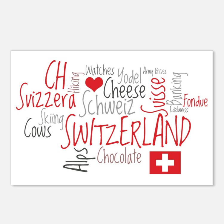 What We Love About Switze Postcards (Package of 8)
