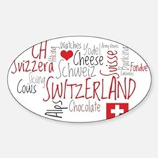 What We Love About Switzerland Decal