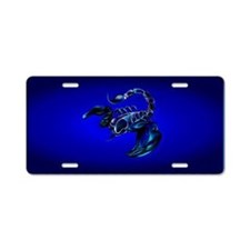 PatchBlack Scorpion Aluminum License Plate