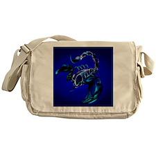 Black Scorpion_pillow Messenger Bag
