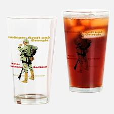 Endurance, Strength & Energy Ge Drinking Glass