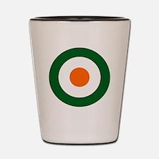 8x10-Irish_Air_Corps_roundel_1922-1923 Shot Glass