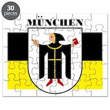 Munich (blk) Puzzle