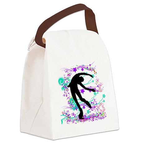 skaterspin Canvas Lunch Bag