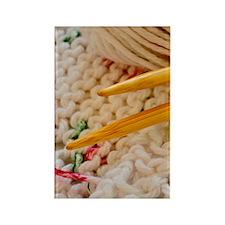 knittingTweed_hardCase Rectangle Magnet