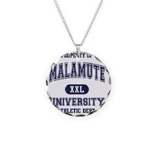 Malamute University Necklace