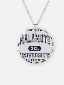 Malamute University Necklace