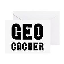 Geocacher Arrows Greeting Cards (Pk of 10)