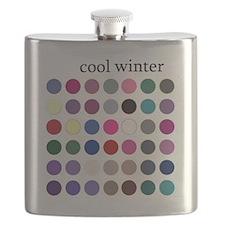 cool winter Flask