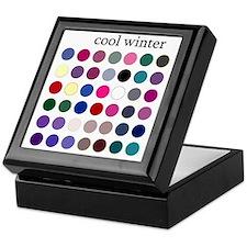 cool winter Keepsake Box