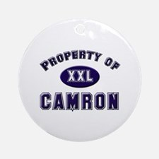 Property of camron Ornament (Round)