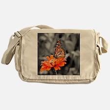 Madam Butterfly Messenger Bag