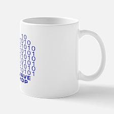 logowitharialbluetrbg2 Mug