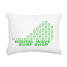 logowithbgothicgreentrbg Rectangular Canvas Pillow