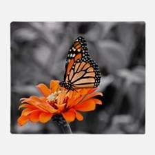 Madam Butterfly Throw Blanket