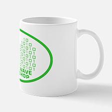 logowithbgothicgreentrovalbgtrbg2 Mug