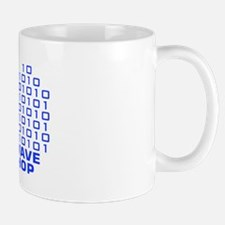 logowithbgothicbluetrbg2 Mug