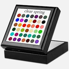 clear spring Keepsake Box
