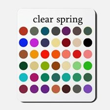clear spring Mousepad