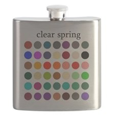 clear spring Flask
