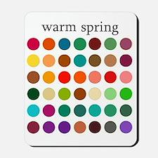 warm spring Mousepad