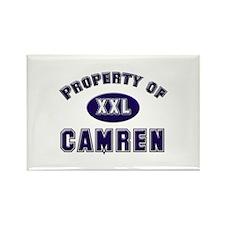 Property of camren Rectangle Magnet