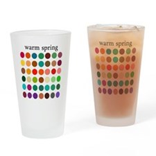warm spring Drinking Glass