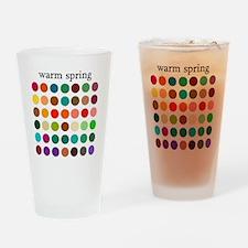 warm spring Drinking Glass