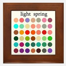 light spring Framed Tile