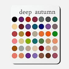 deep autumn Mousepad