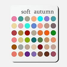 soft autumn Mousepad