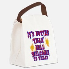 Hotter than hell Canvas Lunch Bag