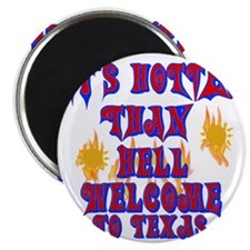 Hotter than hell Magnet