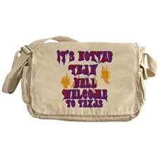 Hotter than hell Messenger Bag