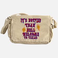 Hotter than hell Messenger Bag
