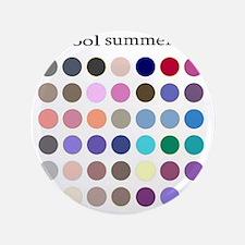 """cool summer 3.5"""" Button"""