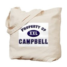 Property of campbell Tote Bag