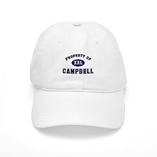 Property of campbell Baseball Cap