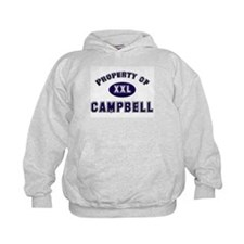 Property of campbell Hoodie
