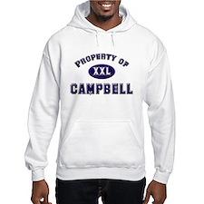 Property of campbell Hoodie Sweatshirt