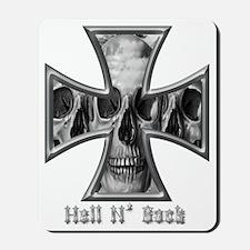 Hell N Back Skulls Mousepad
