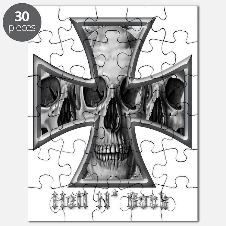 Hell N Back Skulls Puzzle